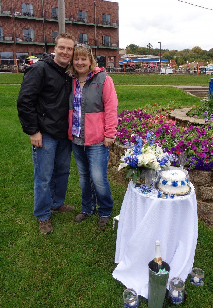 Jennifer and Josh's Engagement in Stillwater, Minnesota