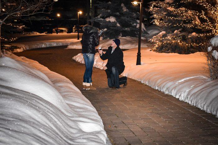 Janelle's Proposal in Sun Valley, Idaho