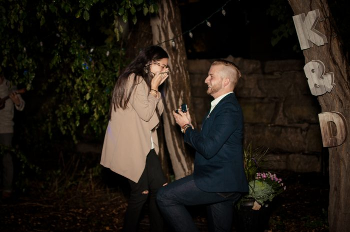 Where to Propose in Kristine's Parents home