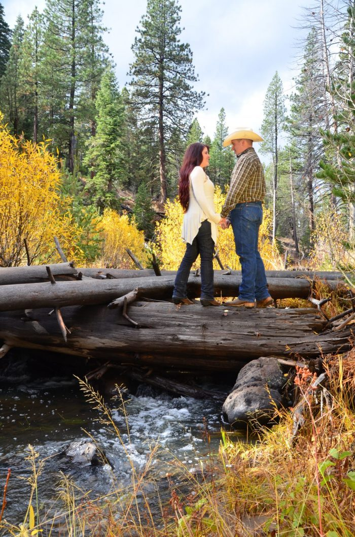 Evelyn and Ben's Engagement in Truckee, CA