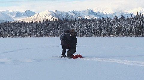 Deborah Jean and Drew's Engagement in Denali National Park, Alaska