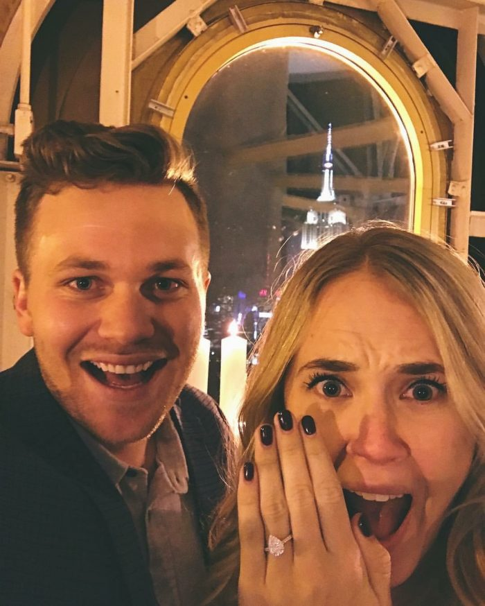 Engagement Proposal Ideas in The New York Edition Hotel