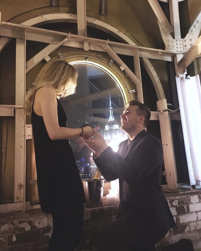 Marriage Proposal Ideas in The New York Edition Hotel