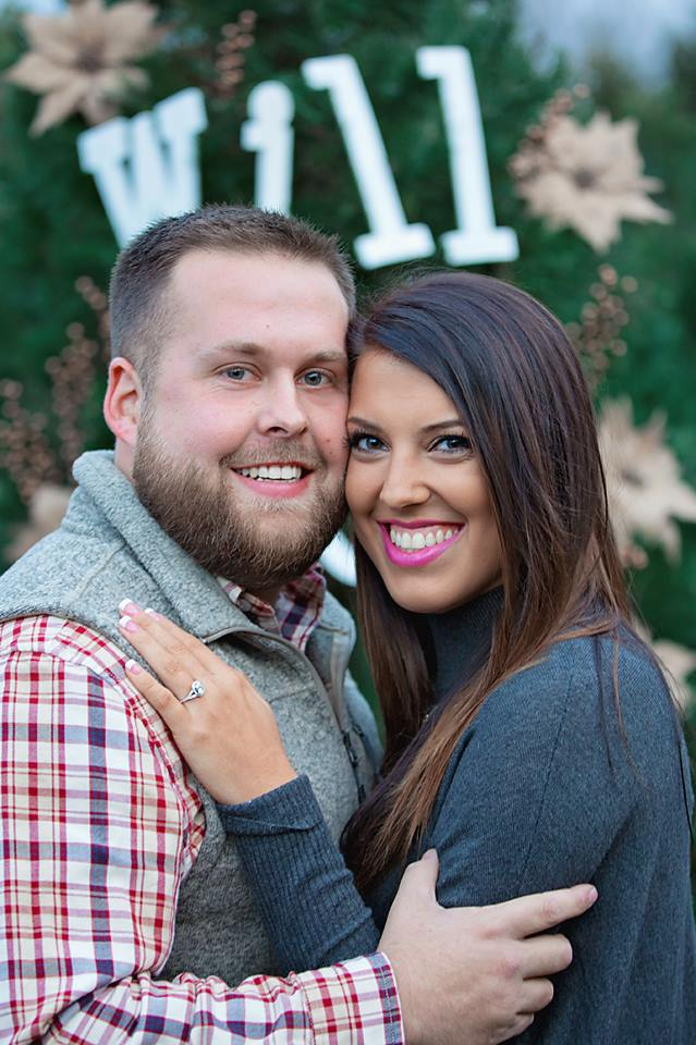 Engagement Proposal Ideas in Christmas Tree Farm