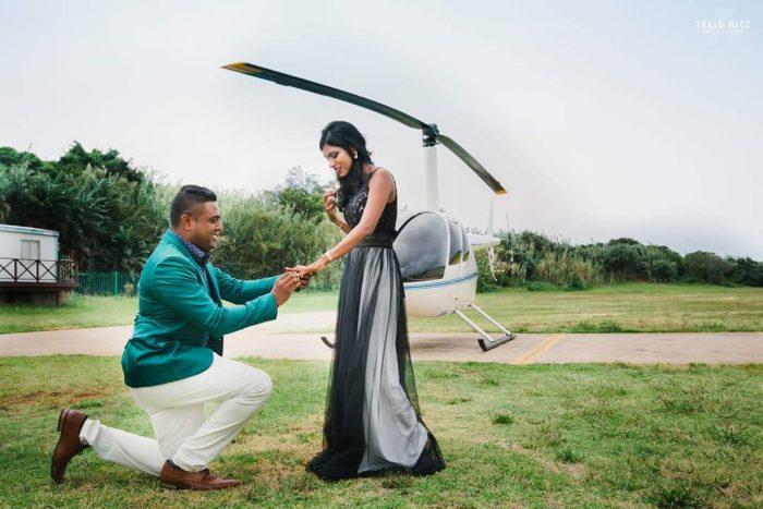 Where to Propose in Virginia airport