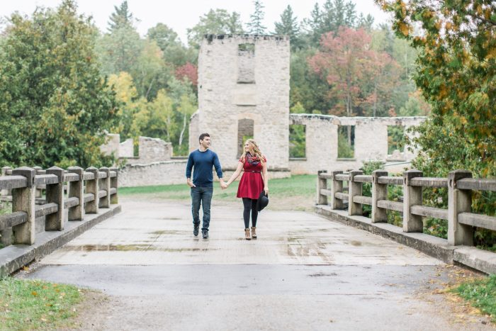 Sam and Chris's Engagement in Kincardine, Ontario