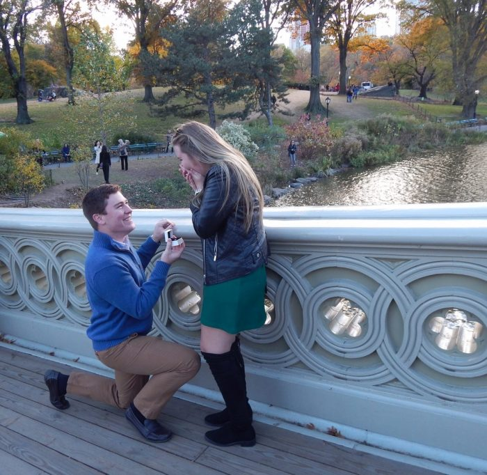 Allison's Proposal in Central Park
