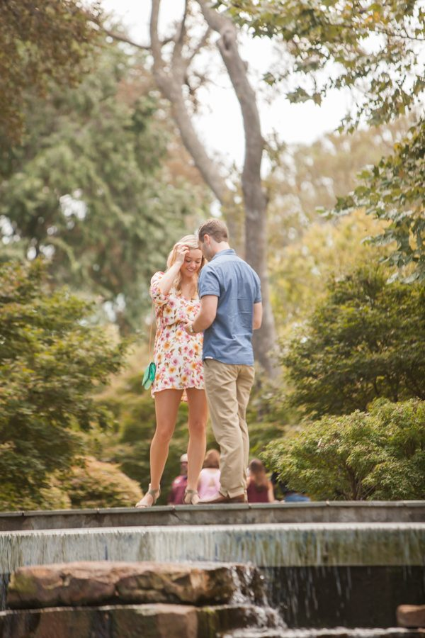 Where to Propose in The Dallas Arboretum