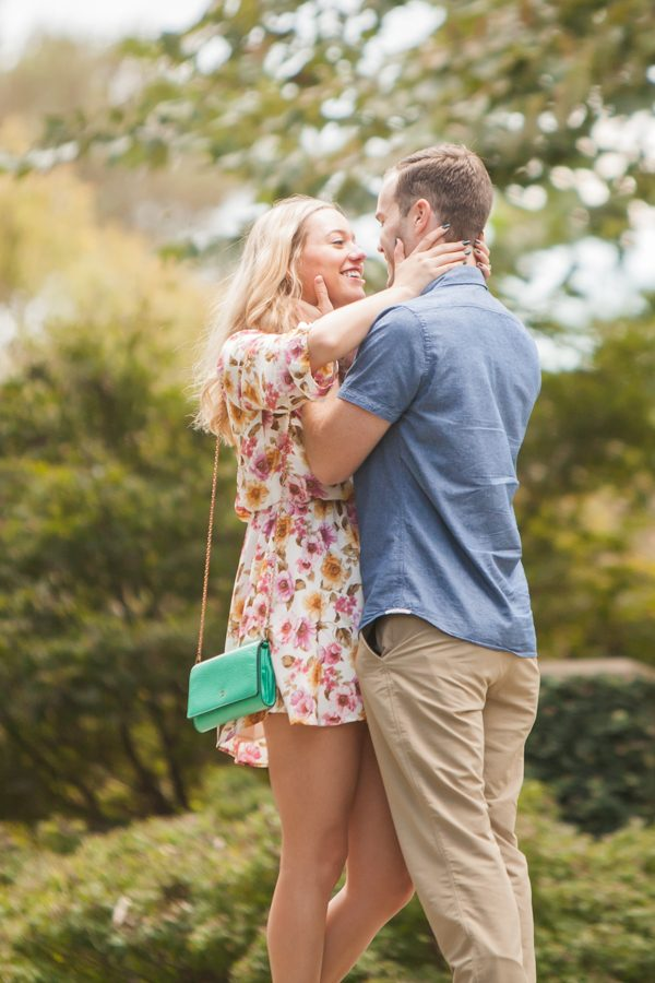 Wedding Proposal Ideas in The Dallas Arboretum