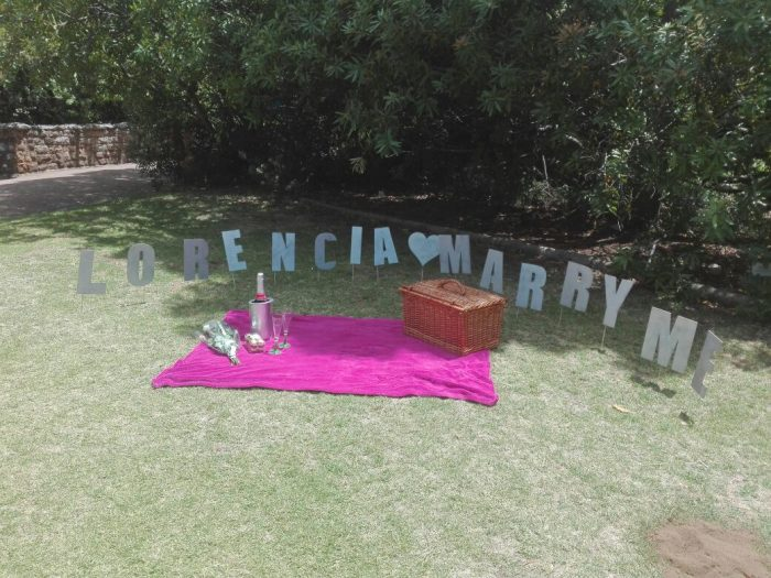 Where to Propose in Kirstenbosch National Botanical Garden