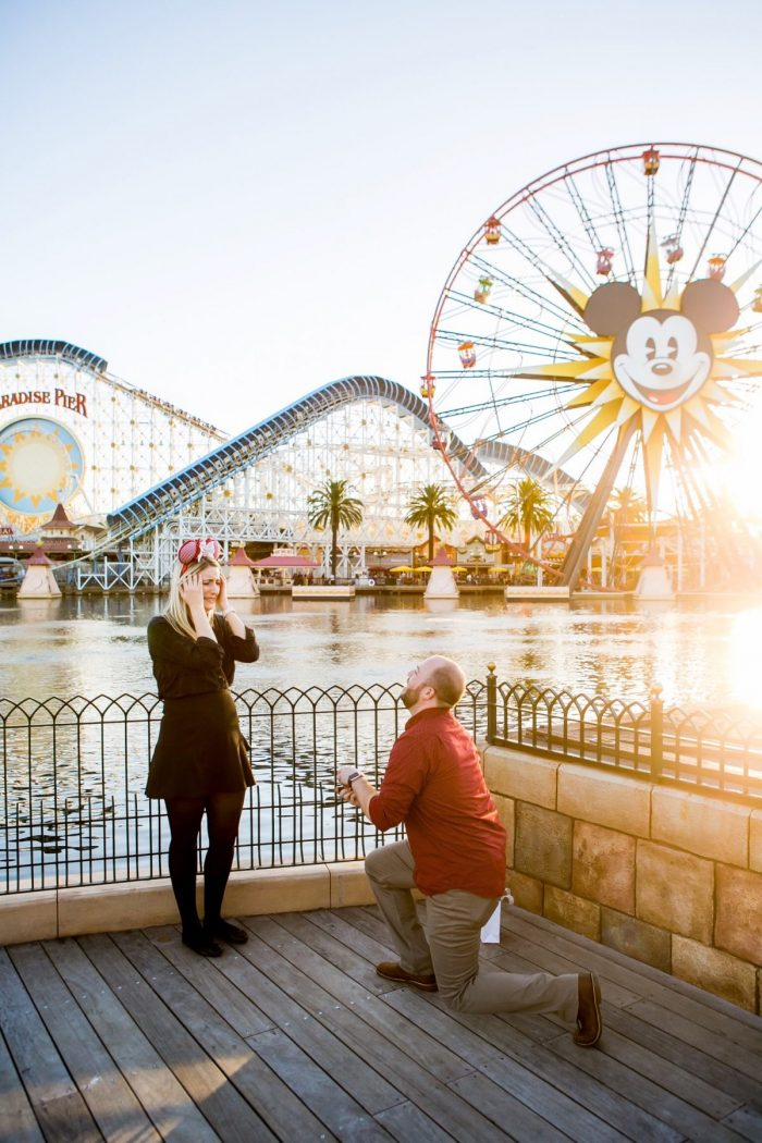 Engagement Proposal Ideas in Disney's California Adventure Park: Paradise Pier