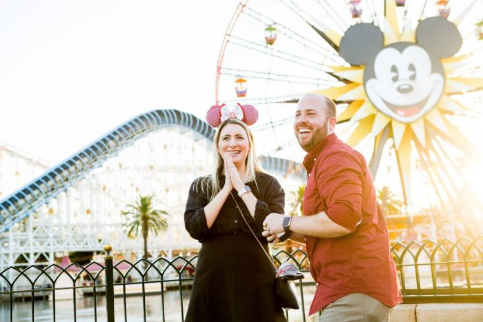 Kara's Proposal in Disney's California Adventure Park: Paradise Pier