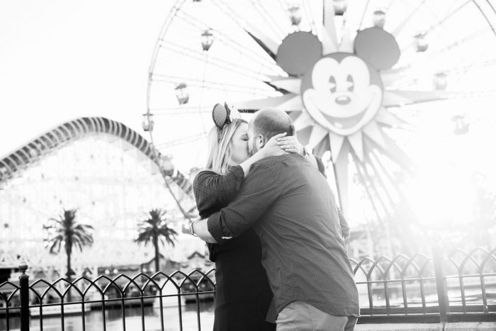 Kara and Drew's Engagement in Disney's California Adventure Park: Paradise Pier