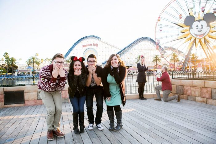 Marriage Proposal Ideas in Disney's California Adventure Park: Paradise Pier