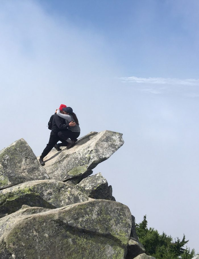 Where to Propose in On top Mt pilchuck