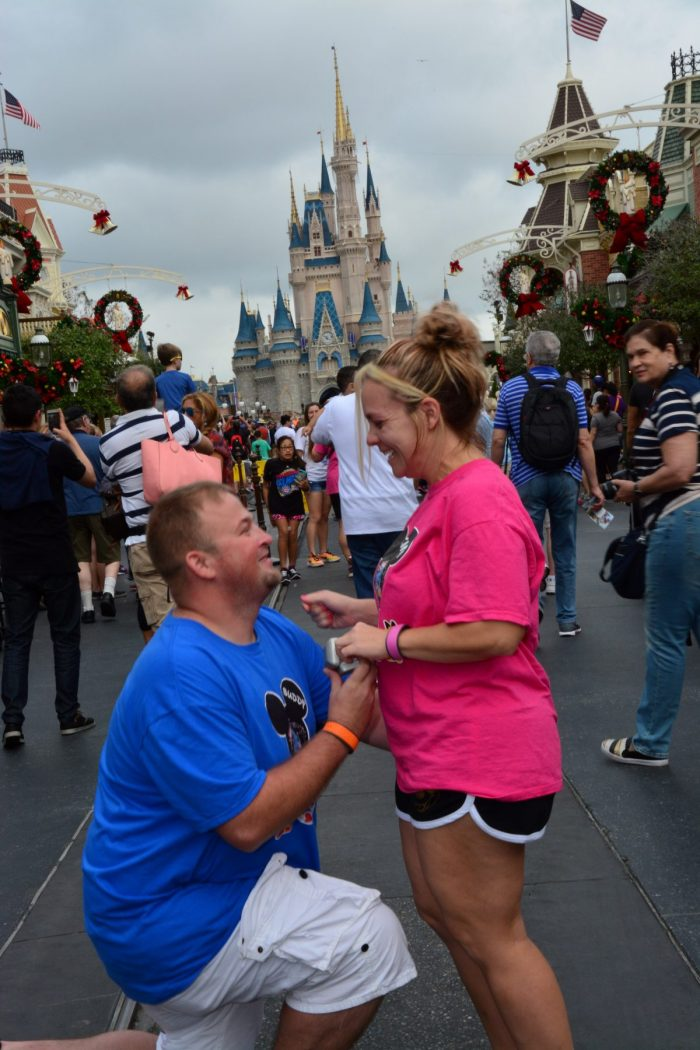 Kim's Proposal in Disney World