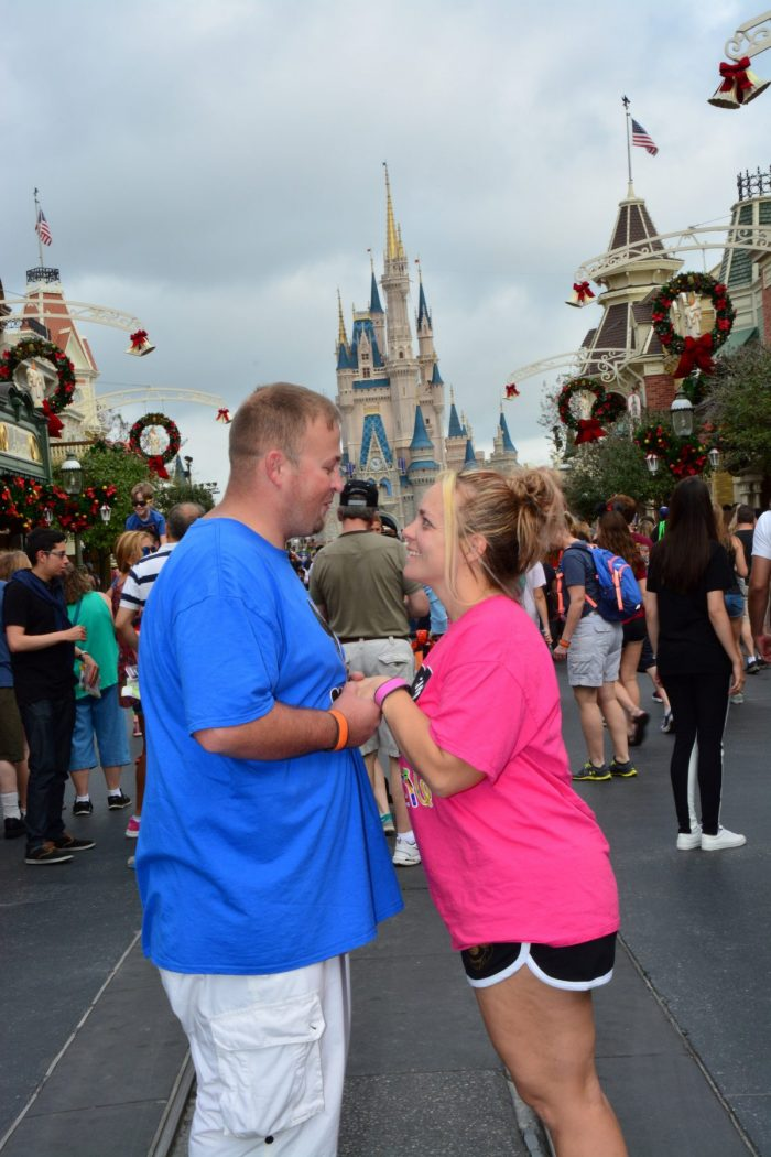 Kim and Buddy's Engagement in Disney World