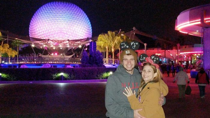 Lauren and Tyler's Engagement in Walt Disney World
