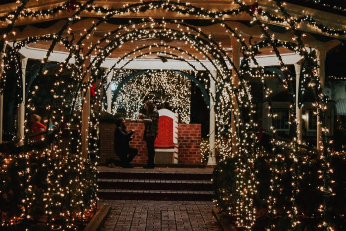 Wedding Proposal Ideas in Collierville Square - Memphis, TN
