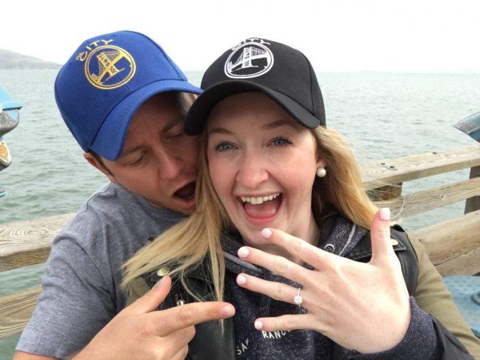Samantha's Proposal in San Francisco