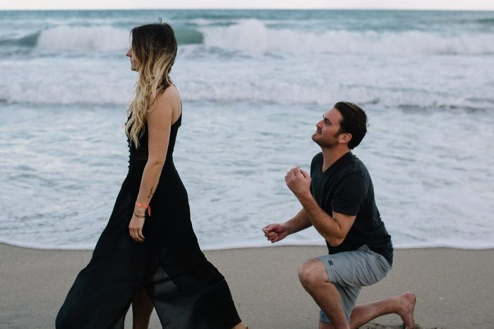 Engagement Proposal Ideas in on the beach