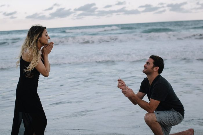 Where to Propose in on the beach