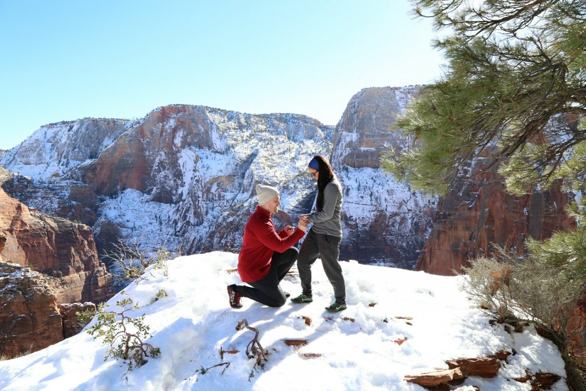 Where to Propose in Zion national park