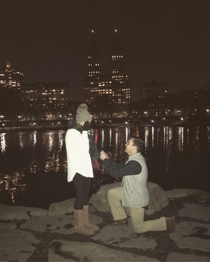 Engagement Proposal Ideas in Central Park, NY