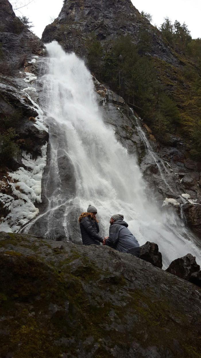 Wedding Proposal Ideas in Dosewallips Falls, Brinnon, WA