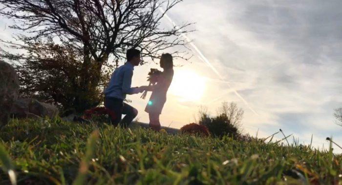 Wedding Proposal Ideas in Buck Creek State Park