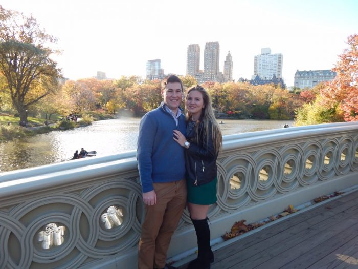 Allison and Christopher's Engagement in Central Park