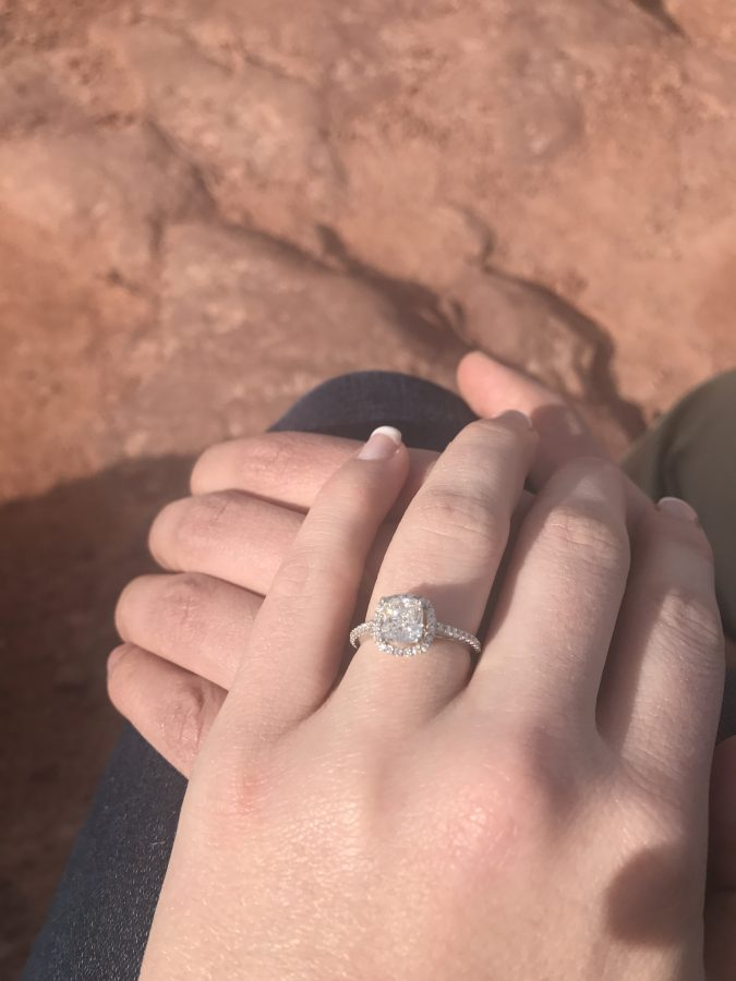 Morgan and Jonah's Engagement in Grand Canyon