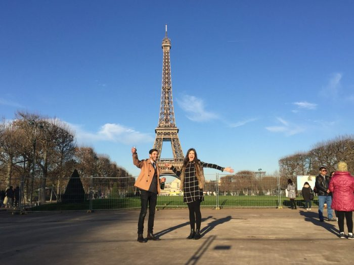 Georgina's Proposal in Paris, under the Eiffel Tower