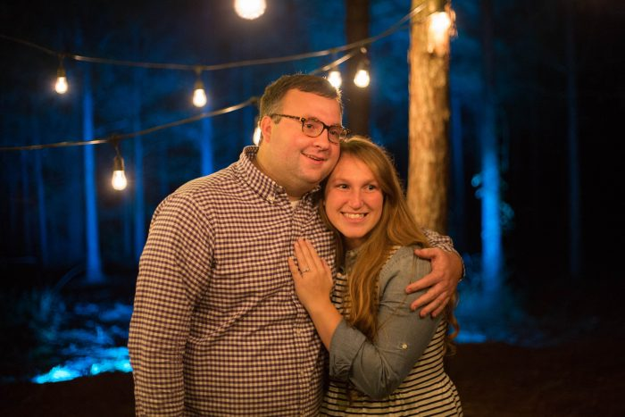 Lauren and Jordan's Engagement in Woodworth, LA