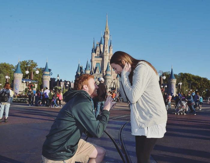 Wedding Proposal Ideas in Walt Disney World - Magic Kingdom