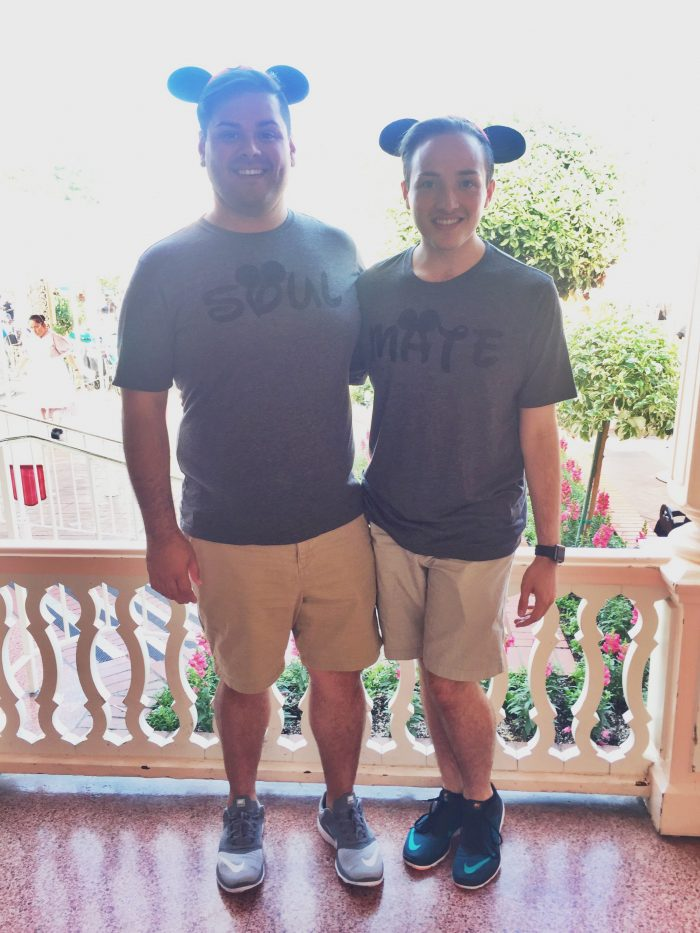 Nathan and Julian-Sebastian's Engagement in Club 33 at the Disneyland Resort
