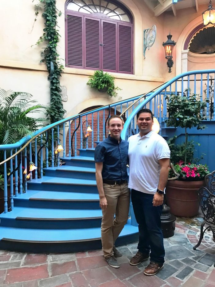 Where to Propose in Club 33 at the Disneyland Resort