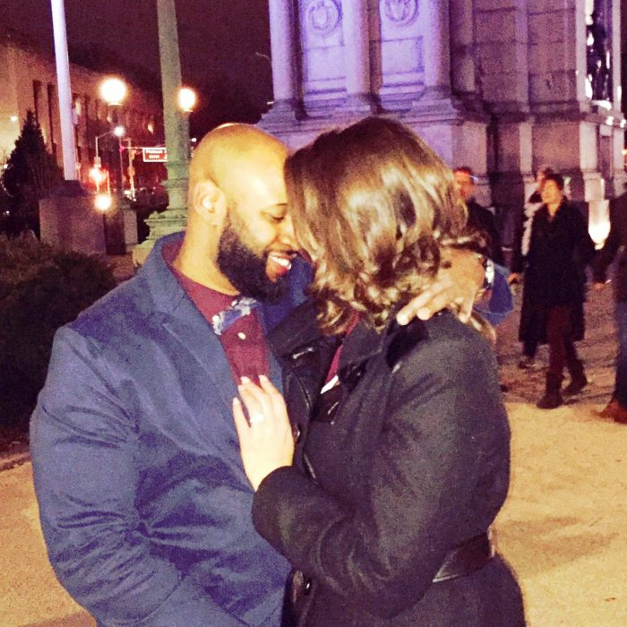 Laura's Proposal in Grand Army Plaza Brooklyn, NY