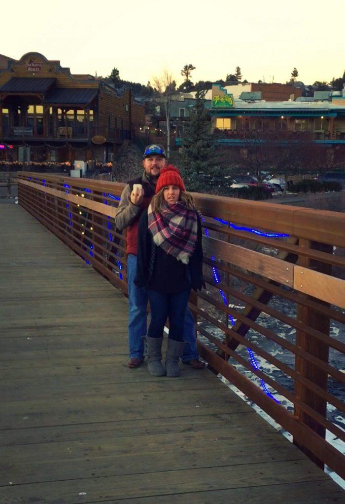 Lauren and Lauren's Engagement in Pagosa Springs, Colorado