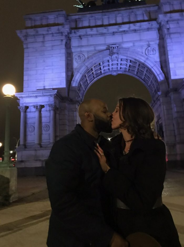 Wedding Proposal Ideas in Grand Army Plaza Brooklyn, NY