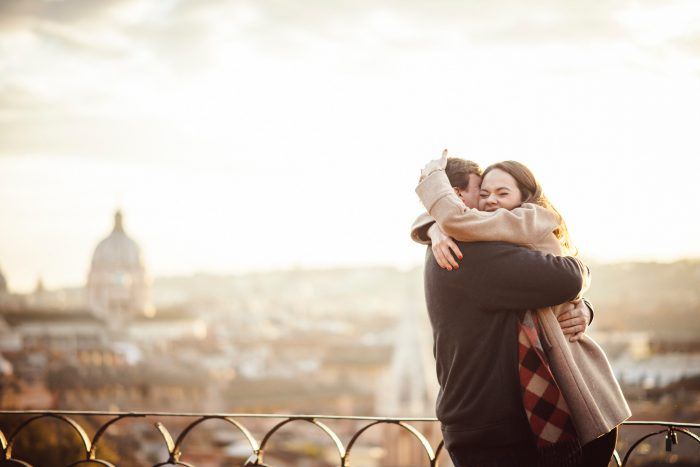 Where to Propose in Rome, Italy