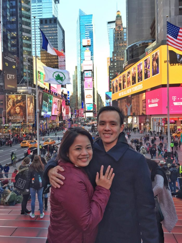 Wedding Proposal Ideas in Times Square, New York City
