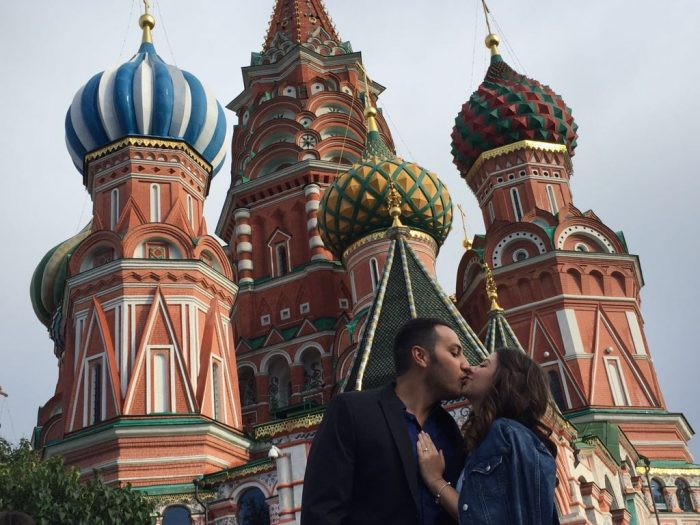 Marriage Proposal Ideas in Moscow, Russia