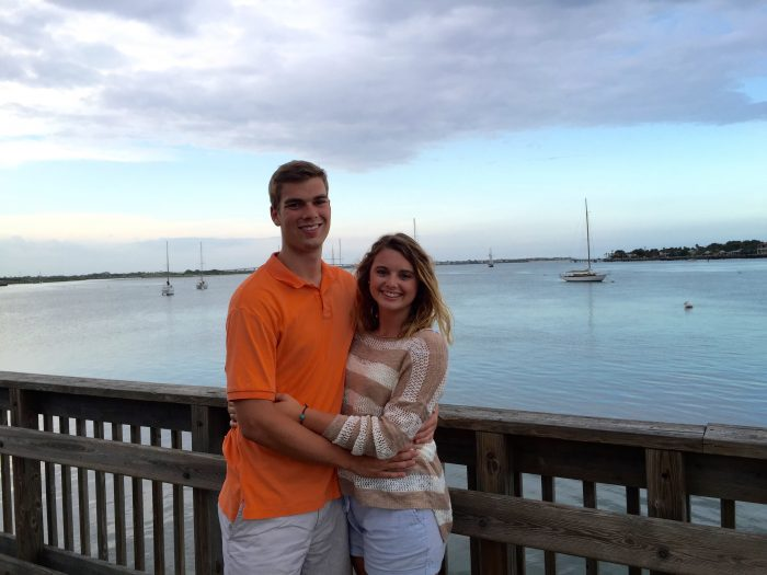 Savanna and Kaleb's Engagement in Palm Coast Florida- Hammock beach resort