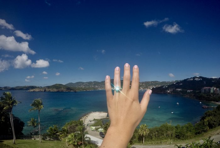 Where to Propose in Marriott Frenchman's Reef in St. Thomas, USVI
