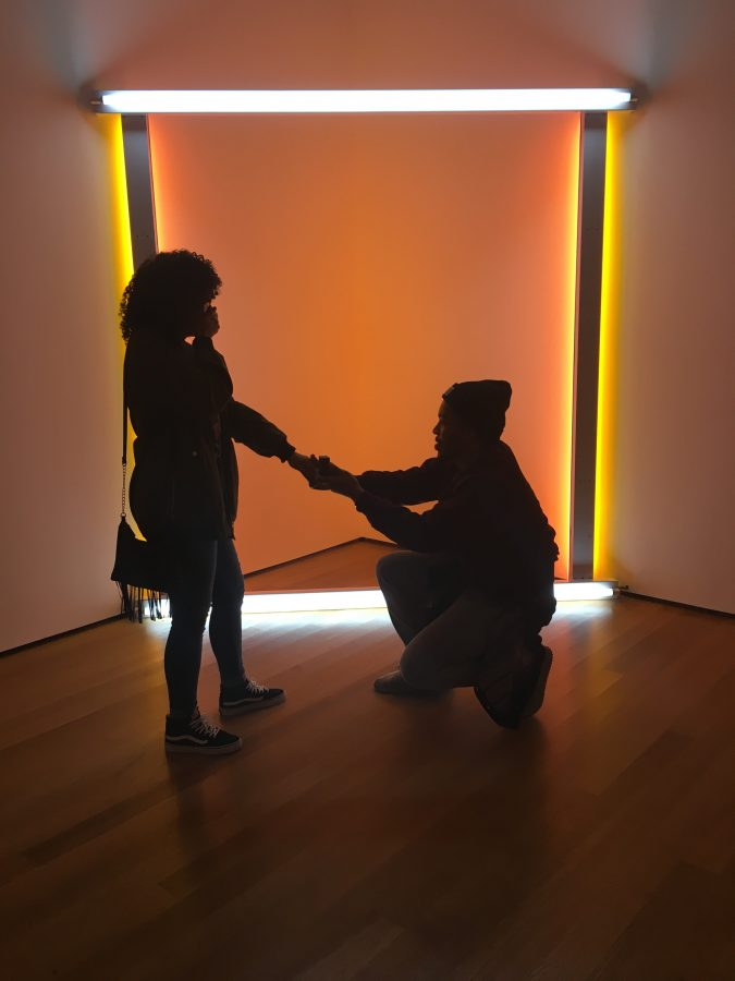 Where to Propose in The MoMa in NYC