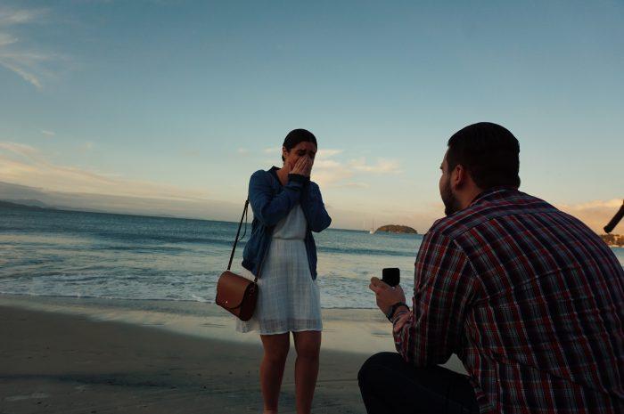 Marriage Proposal Ideas in Jurerê, Brazil