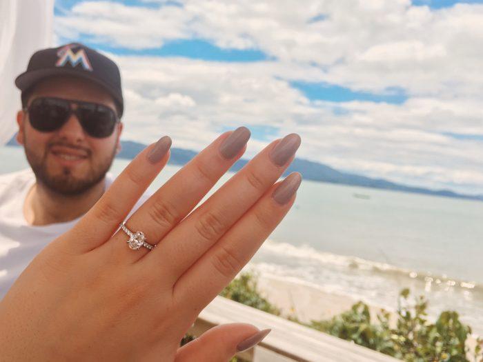 Carolyna's Proposal in Jurerê, Brazil