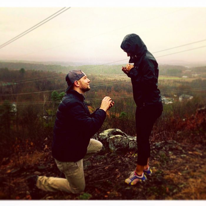Ashley's Proposal in Metacomet Mountain