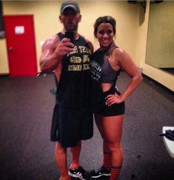 Michelle's Proposal in Retro Fitness in Jackson, NJ
